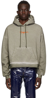 Ottolinger Grey Garment-Dye Hoodie