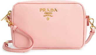 Prada Saffiano Leather Camera Bag