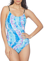 Reef Lace Up Back One Piece