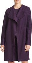 Elie Tahari Dez Stretch Wool Coat
