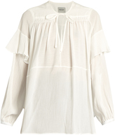 Rachel Comey Willow ruffle-trimmed blouse