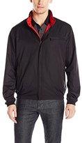 Bugatchi Men's Soft Shell Polyester Reversible Jacket