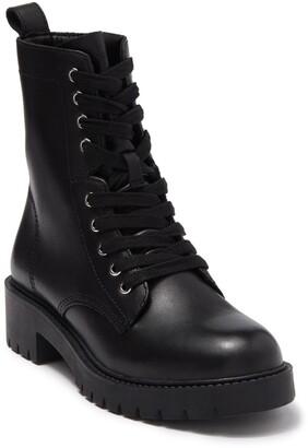 Steve Madden Checker Combat Boot