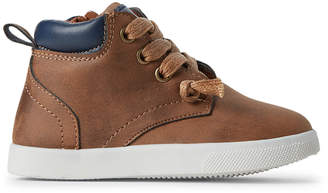 Stepping Stones (Toddler Boys) Brown High-Top Sneakers