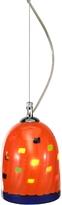 Voltolina Mega Rancio - Orange Murano Handmade Glass Pendant Lamp