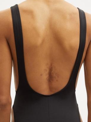 Norma Kamali Marissa Scoop-back Swimsuit - Black