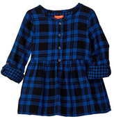 Joe Fresh Plaid Tunic (Toddler & Little Girls)