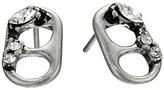 Marc Jacobs Safety Pin Mini Strass Soda Lid Studs Earrings Earring