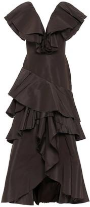 Johanna Ortiz Momentos Eternos silk gown