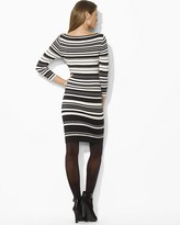 Lauren Ralph Lauren Printed Bateau Neck Dress