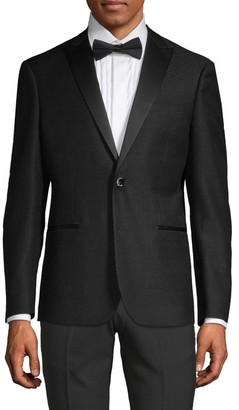 Saks Fifth Avenue Nhp Extra Slim-Fit Peak Lapel Tuxedo Jacket