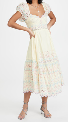 LoveShackFancy Magena Dress