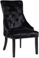 Chic Home Set Of 2 Raizel Black Dining Chairs