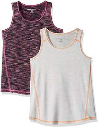 Amazon Essentials 2-pack Active Tank T-Shirt,S