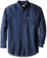 Dockers Big-Tall Long Sleeve Solid Button Down Collar Chambray Shirt