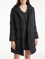 Max Studio Hooded Padded Coat, Black