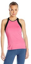 Soffe Women's High-Neck Track Tank Top
