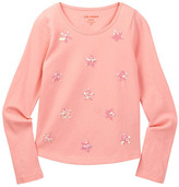 Joe Fresh Sequin Star Tee (Little Girls & Big Girls)