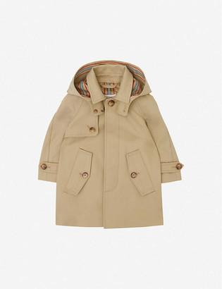 Burberry Bradley cotton-twill coat 6-24 months