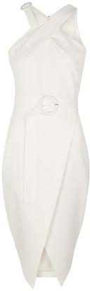 Lavish Alice White belted dress