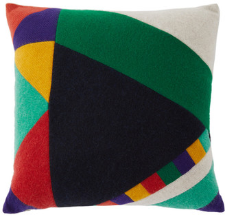 The Elder Statesman Multicolor Prisms Pillow