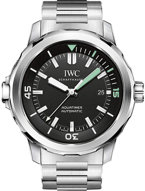 IWC IW329002 Aquatimer stainless steel watch