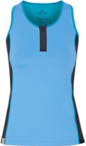 Monreal London Action Stretch-jersey Tank - Sky blue