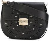 Furla chain strap crossbody bag - women - Leather - One Size