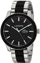 Lacoste Men's '12.12' Quartz Stainless Steel Casual WatchMulti Color (Model: 2010890)
