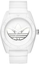 adidas 'Santiago' Polyurethane Strap Watch, 42Mm