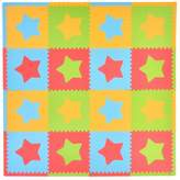 Tadpoles Playmat Set 16 Piece Stars-Multi/Modern