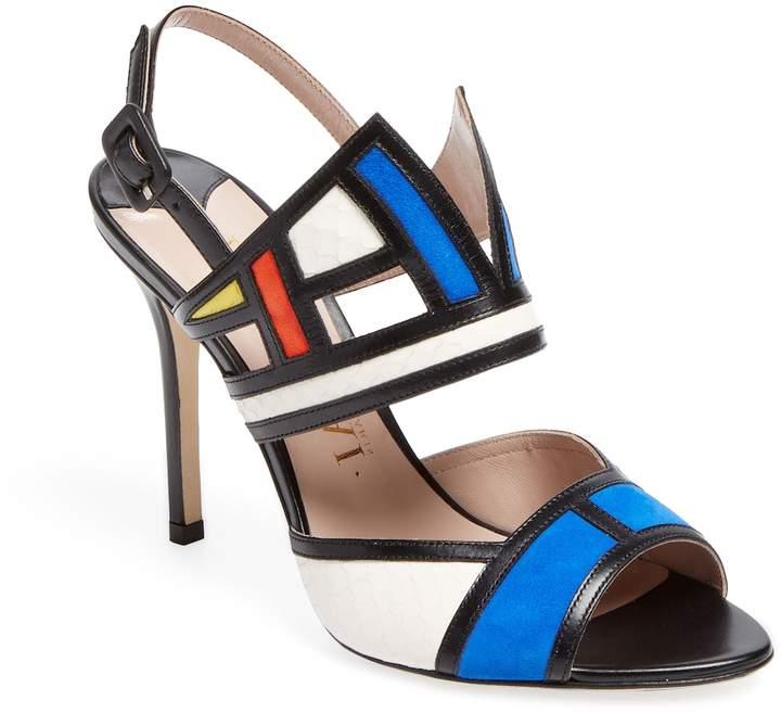 Aperlaï Women's Colorblock Sandal