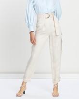 Shona Joy Cargo Pants with D-Ring Belt