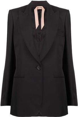 No.21 Tailored one button blazer