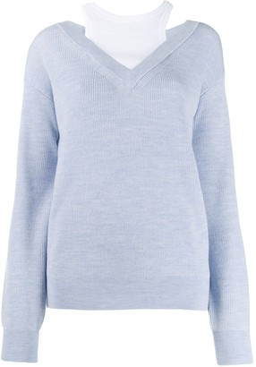 Alexander Wang Layered Sweater
