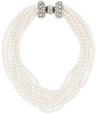 Lanvin Faux Pearl Necklace