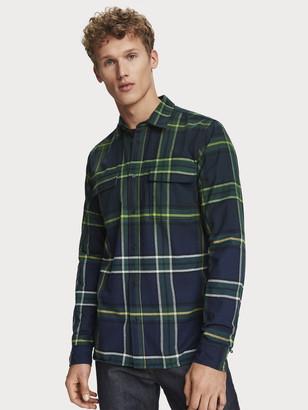 Scotch & Soda Checked Shirt Regular fit   Men