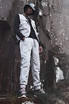 BoohoomanBoohooMAN Mens Grey Utility Vest & Jogger Set With Rubber MAN Badge, Grey