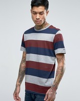 Jack and Jones Stripe Pocket T-Shirt