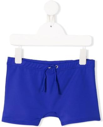 Diesel drawstring swim shorts