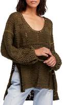 Free People Flower Child Knit Tunic