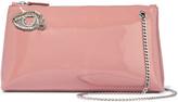 Rochas Borsa embellished patent-leather shoulder bag