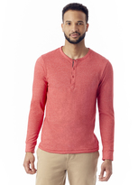Alternative Basic Eco-Mock Twist Henley Shirt
