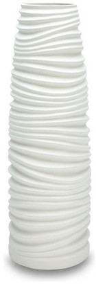 Impulse Impulse! Nordic Vase, White, Medium