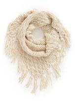 BP Women's Chunky Knit Triangle Scarf