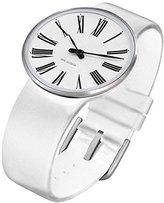 Rosendahl Arne Jacobsen Roman Unisex Watch 43462 with White Calf Skin Strap (Small)