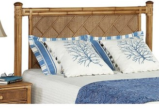 Braxton Culler Summer Retreat Chippendale Panel Headboard Color: Antique Cottage White, Size: King