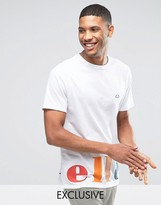 Ellesse T-Shirt With Color Block Logo