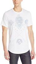 Buffalo David Bitton Men's Nasamy Short Sleeve Crew Neck Fashion Tee Shirt