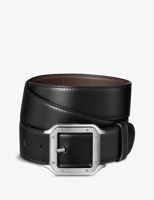 Cartier Santos leather belt
